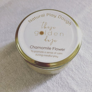 Chamomile Flower Mindful Play Dough