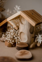 Load image into Gallery viewer, Wooden Fairy Houses- Set of 4