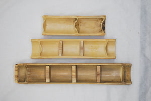 Bamboo Sorting Trays- Set of 3