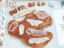Load image into Gallery viewer, Monarch Butterfly Lifecycle Eco Cutter Set of 3