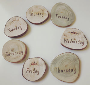 Days of the Week Slabs