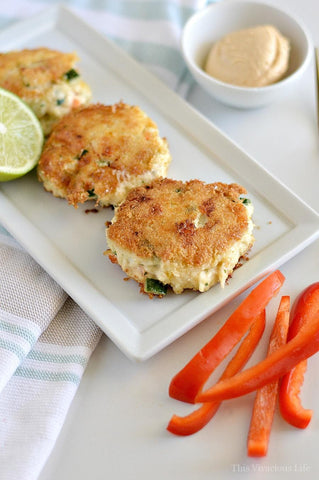 Whole30 Gluten-Free Crab Cakes