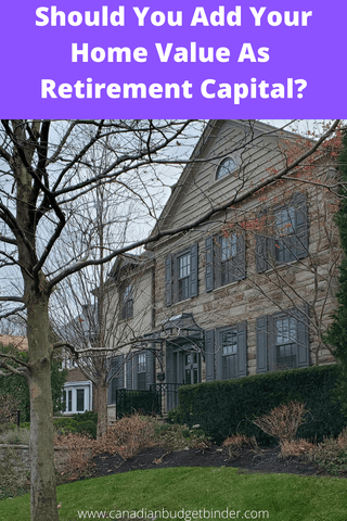 Should You Include Your Home Value As Retirement Capital? : October Net Worth Update (+1.32%)