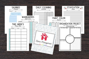 The Best Home Management Printables to Get You Organized