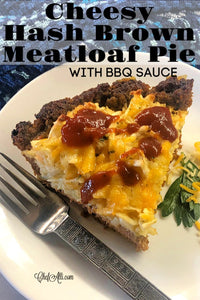 Cheesy hash browns piled high in a yummy meatloaf crust? Yes, please!! This one-pan meatloaf casserole is wildly popular at our house and my family never seems to tire of it