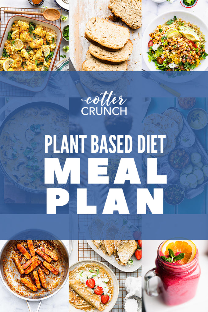 Plant Based Diet Meal Plan & Grocery List (Gluten Free)