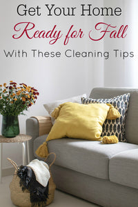 We talk about spring cleaning a lot but what about fall cleaning? It's also important but often overlooked