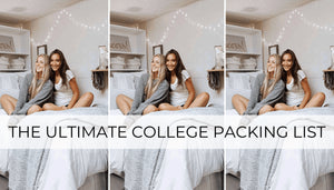 If you're moving into dorm rooms, this college packing list will make your life so much easier.