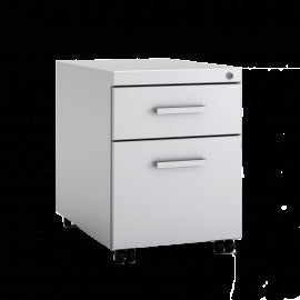 Comfortable White Wood Lateral File Cabinet