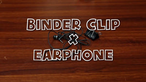 Wanna know how to use binder clip on yur earphone? Watch this clip now! ---------------------------------------------- HOW TO offers detailed information through useful ...