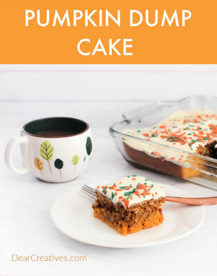 Do you love to bake? I made a pumpkin cake recently, I was inspired by a pumpkin spice cake recipe I found