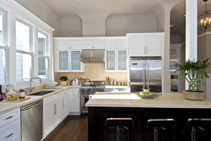 Involved Modern Traditional Kitchen