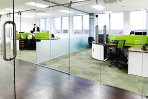 Charming Glass Office Dividers