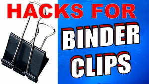 If You thought paper binder clips were just used holding sheets of paper together you couldn't be further from the truth? This video will introduce you to a world of ...