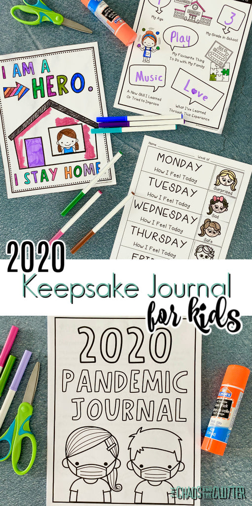 The 2020 Pandemic Journal for Kids is a powerful tool in helping your child focus on the positive, express their feelings in a healthy way, shift their thinking to gratitude and hopefulness, and create a memorable time capsule keepsake