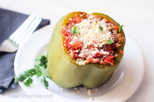 Today we are sharing How to make Stuffed Bell Peppers