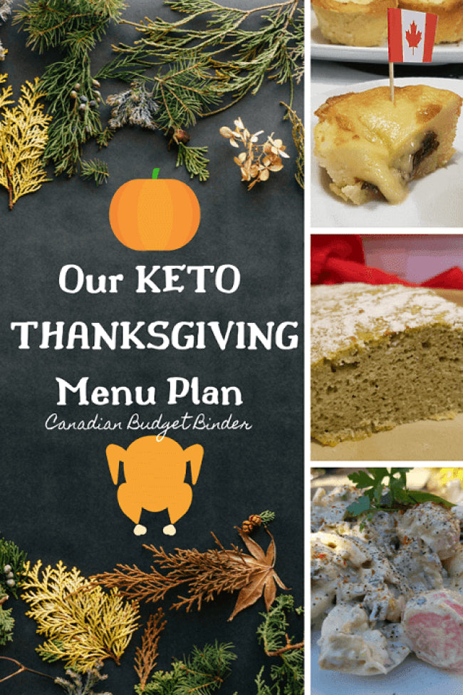 Our Keto Thanksgiving Dinner Menu Plan- The Saturday Weekend Review #289