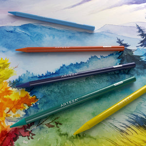 The Best Watercolor Pencils