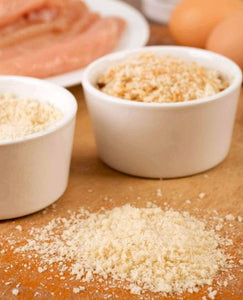 Panko bread crumb is one of the three most common types of breadcrumbs, with the other two being plain bread crumbs and Italian bread crumb