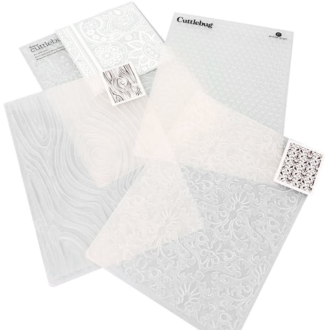 Do you have just a few embossing folders?