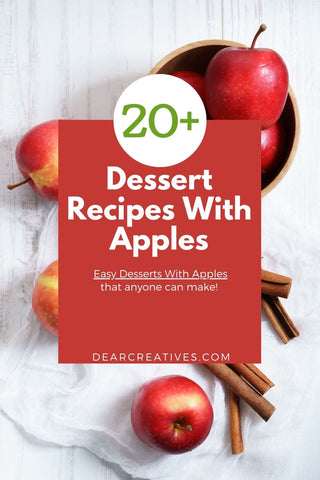 There is something about fall that makes me crave making Dessert Recipes With Apples! I love the smell of apples baking in the oven or cooking on the stove