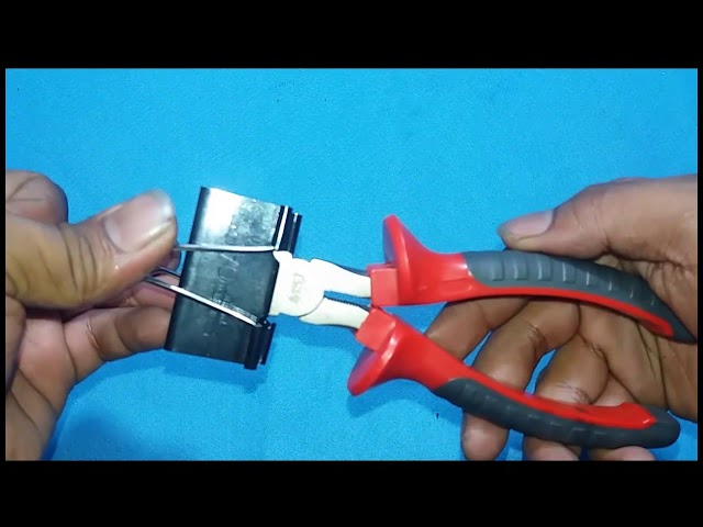 15 Kreatif Binder Clip Patut Dicoba#Life Hack With Binder Clip#Awesome.