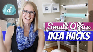 Hey, guys! In this small space organizing video we are tackling the office! You've long asked for an office organization idea video, and this small room was the ...