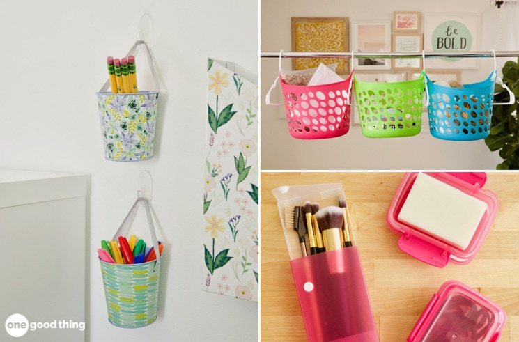 9 Ways That A Trip To The Dollar Store Can Help You Get Organized