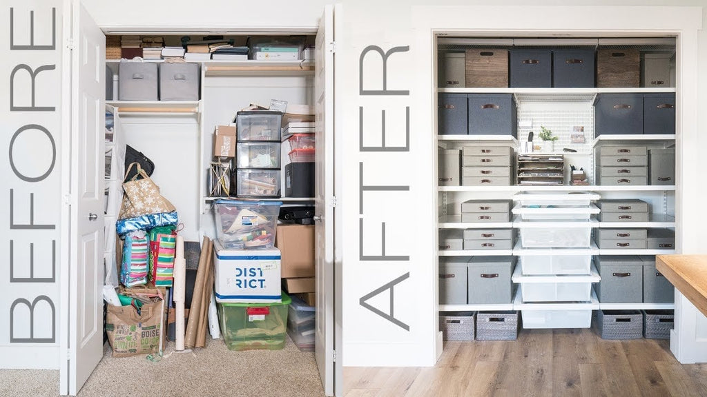 In this video we partnered with the Container Store Closet System to show you way to organize your closet