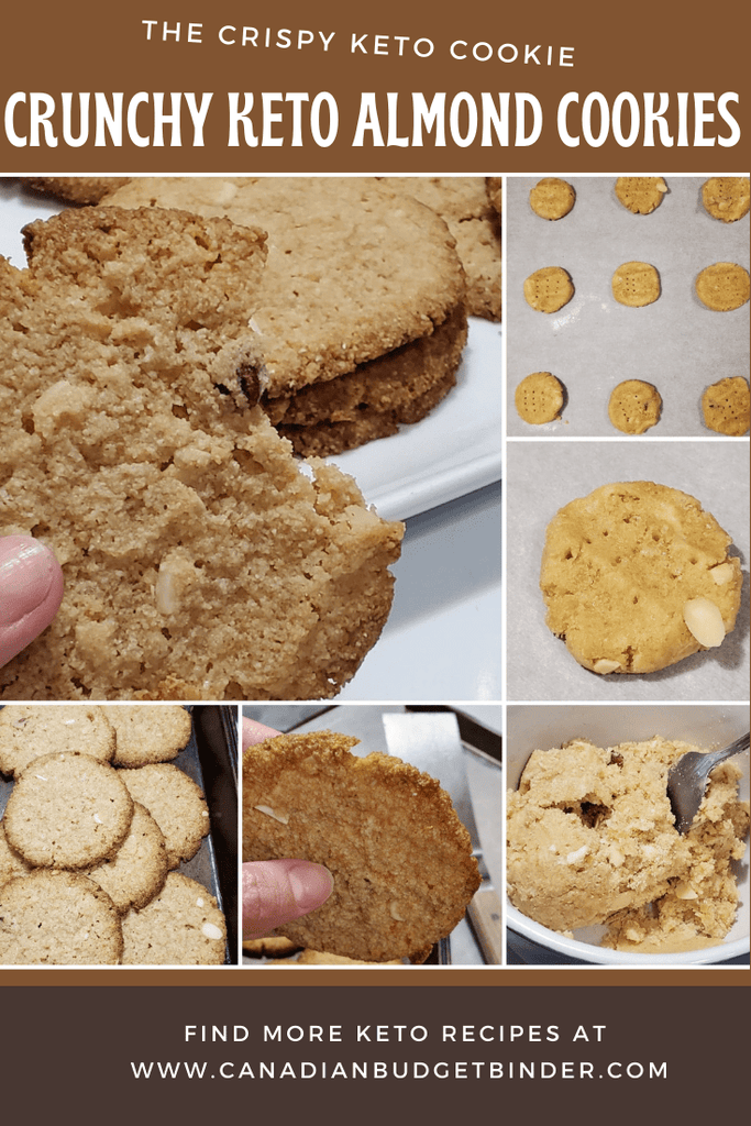 These Crispy Keto Almond Cookies are not in your dreams any longer keto friends.