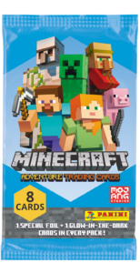 Panini launches new Minecraft Adventure Trading Cards Collection