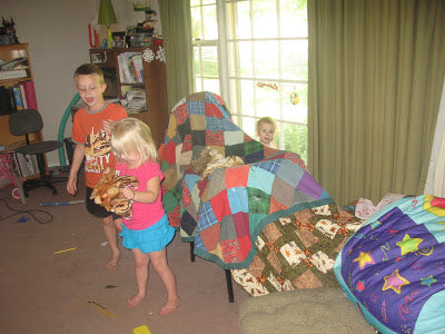 How to Build a Great Fort for Your Child to Play In