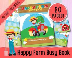 Themed Busy Books for Toddlers