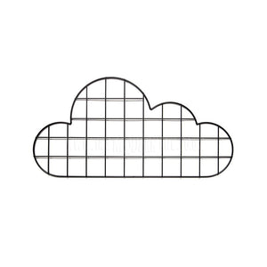 Storage / Display . Wall Grid - Cloud / Black