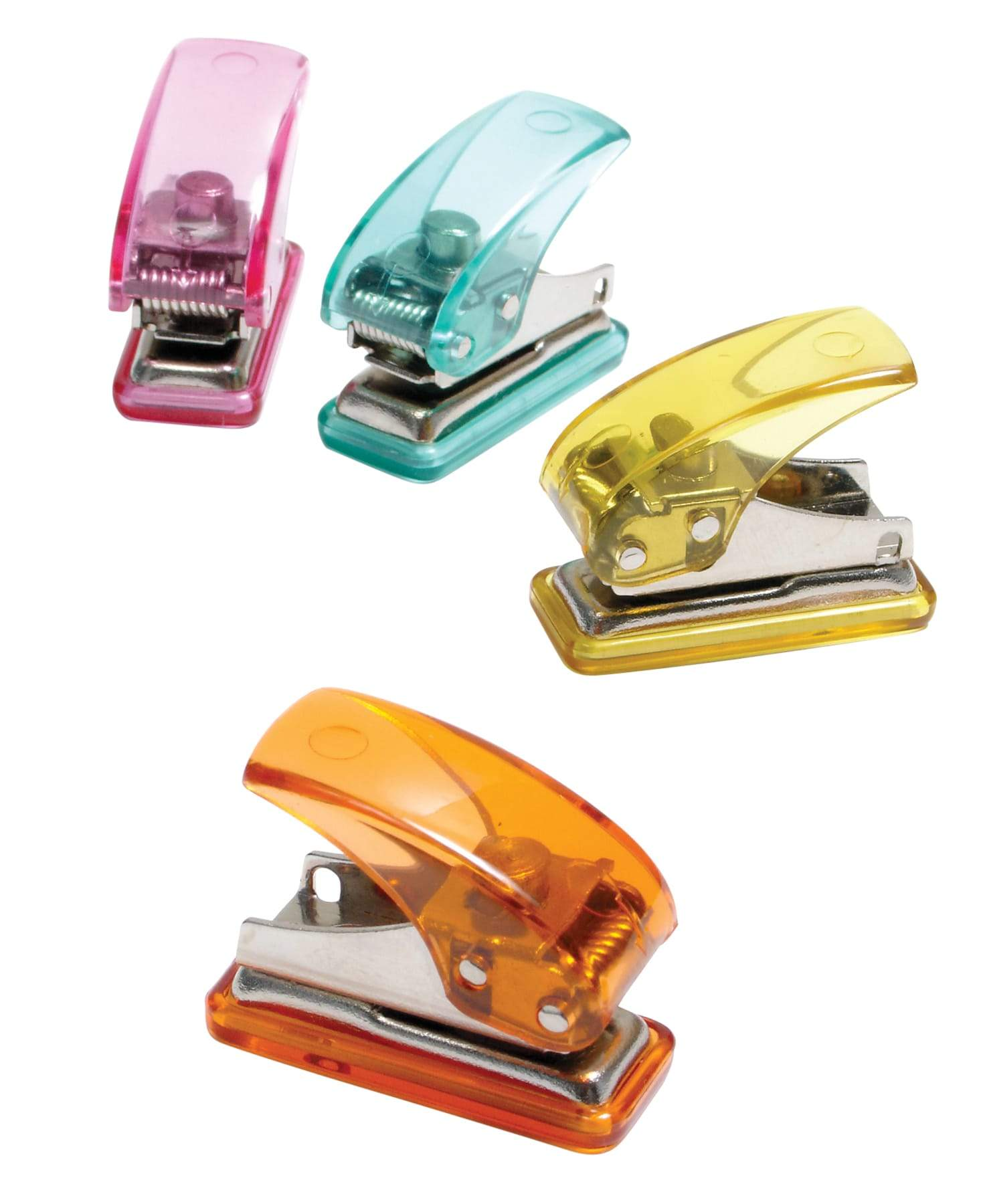 Baumgartens Mini Hole Punch ASSORTED Colors (20270)
