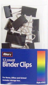 Allary 12 Count Binder Clips
