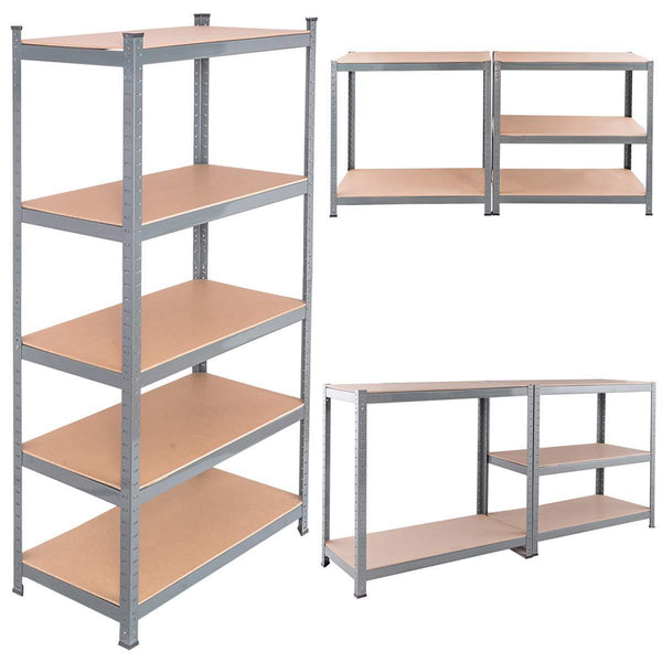 Selection tangkula 72 storage shelves heavy duty steel frame 5 tier garage shelf metal multi use storage shelving unit for home office dormitory garage