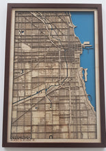 Load image into Gallery viewer, Chicago City Map
