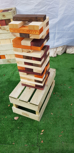 Giant Tumbling Tower Blocks Game