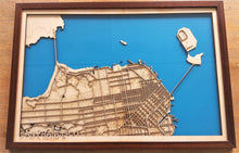 Load image into Gallery viewer, San Francisco City Map