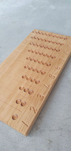 Wooden Counting Board Small