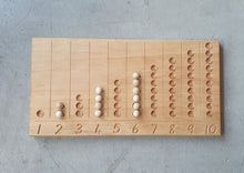 Load image into Gallery viewer, Wooden Counting Board Small