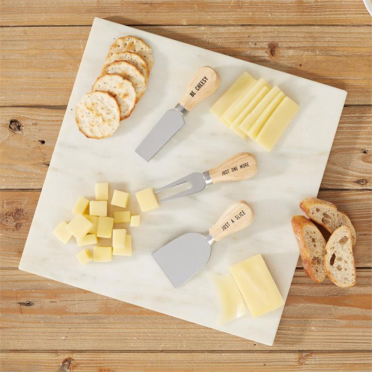 Set of 3 Cheese Knives