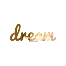 Load image into Gallery viewer, Metallic Cursive Dream Tabletop