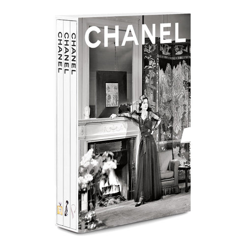 Chanel 3 Book Slipcases