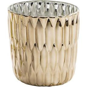 Metallic Jelly Vase