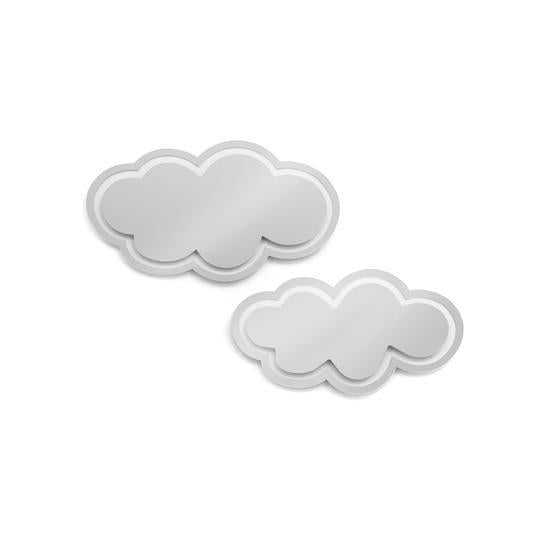 Clouds Set - Silver Mirror