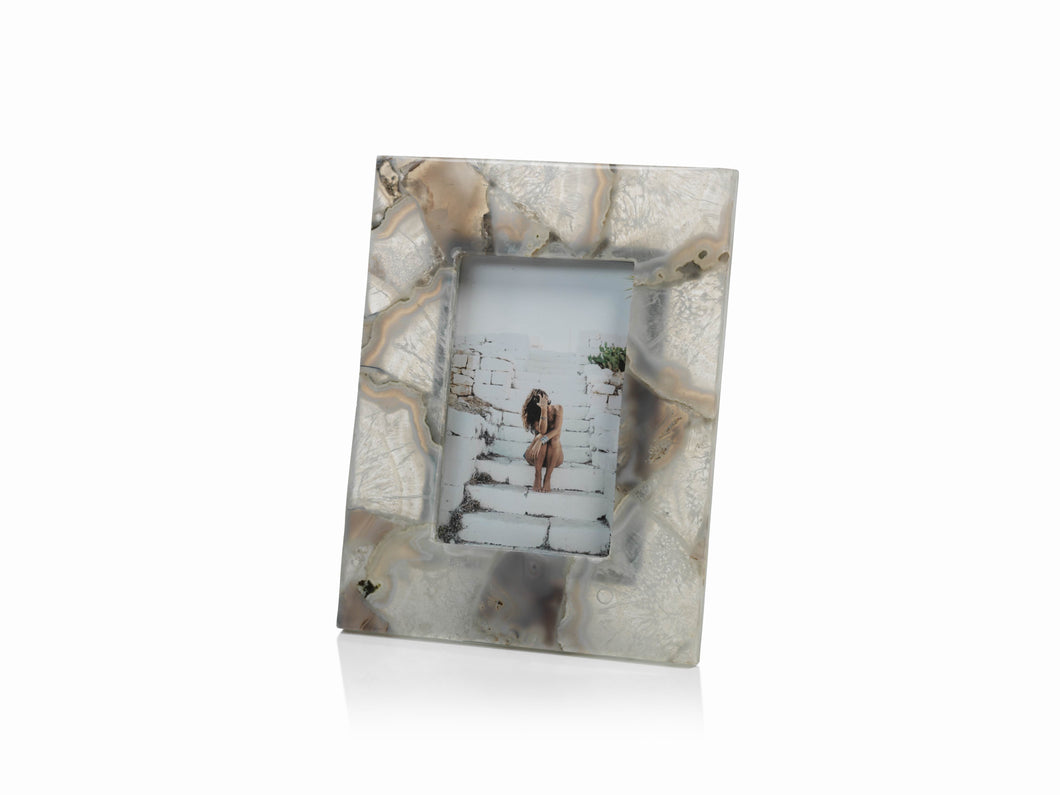 Preto Agate Photo Frame