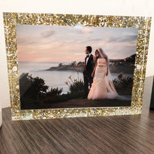 Load image into Gallery viewer, Glitter Acrylic Magnetic Frame 5X7