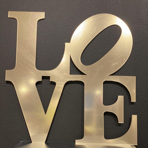 LOVE Wall-Art (SMALL)